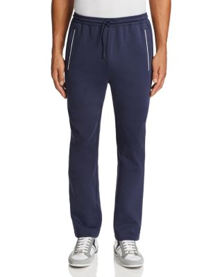 BOSS GREEN Green Hadim Piped Sweatpants in Navy