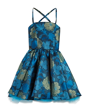 Miss Behave Girls' Eva Floral Dress - Sizes 8-16