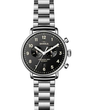 Shinola Canfield Chronograph Watch, 43mm