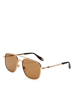 Givenchy - Men's Staple Navigator Square Sunglasses, 58mm