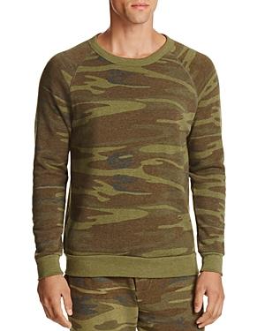 Alternative Champ Eco Fleece Camo Print Sweatshirt & Jogger Pants Set - 100% Exclusive