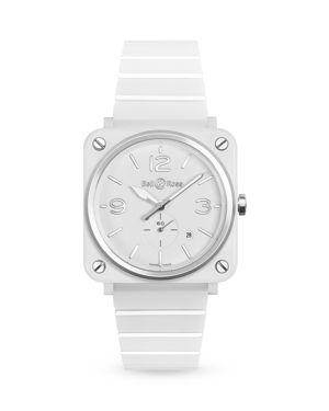 Bell & Ross Br S White Ceramic Watch, 39mm