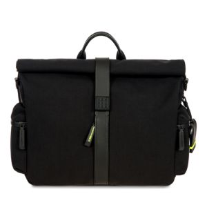 Bric's Moleskine Roll-Top Messenger