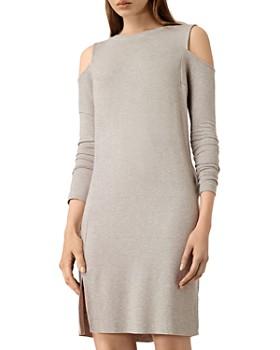 ALLSAINTS - Esther Cold-Shoulder Knit Dress ... cca99d7de