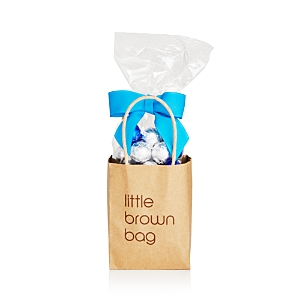 Bloomingdale's Little Brown Bag Blue & Silver Chocolate Foil Balls - 100% Exclusive