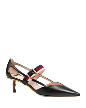 dae20d41c9 Gucci - Women's Ribbon Pointed Toe Pumps ...