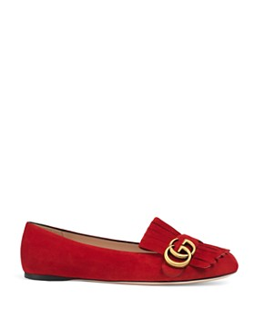 Gucci - Women's Suede Flats