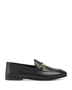 Gucci - Women's Brixton Apron-Toe Loafers