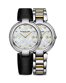 Raymond Weil - Shine Mother-Of-Pearl and Diamond Watch with Interchangeable Straps, 32mm