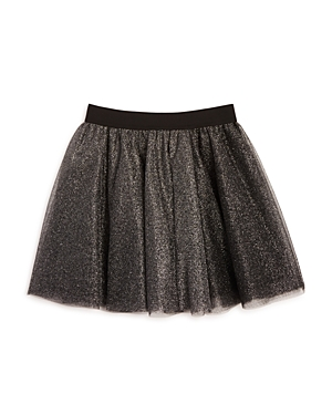 Aqua Girls' Layered Metallic Tulle Skirt, Sizes S-xl - 100% Exclusive