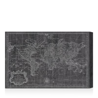 "World Map 1778 Wall Art, 15"" x 10"""
