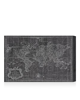 Oliver Gal - World Map 1778 Wall Art