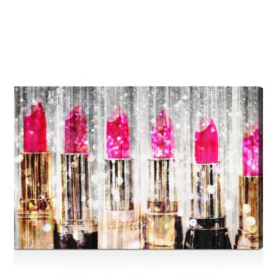 "Lipstick Collection Wall Art, 16"" x 24"""