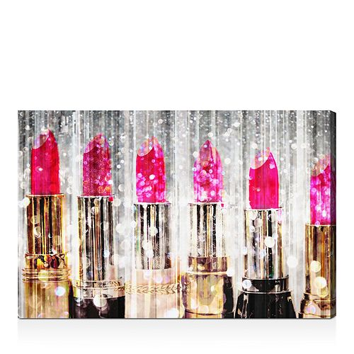 """Oliver Gal - Lipstick Collection Wall Art, 20"""" x 30"""""""