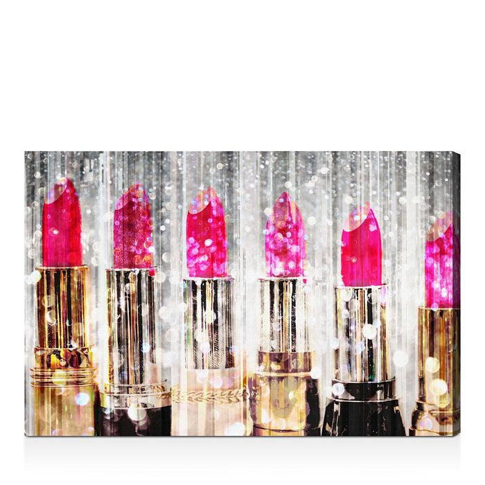 "Oliver Gal - Lipstick Collection Wall Art, 16"" x 24"""