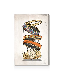 Oliver Gal - Orange Arm Candy Wall Art