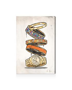 Oliver Gal - Orange Arm Candy Wall Art