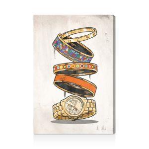 Oliver Gal Orange Arm Candy Wall Art, 16 x 24