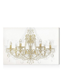 Oliver Gal - Chandelier Diamond Wall Art
