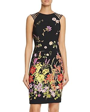 Adrianna Papell Strap-Detail Sheath Dress