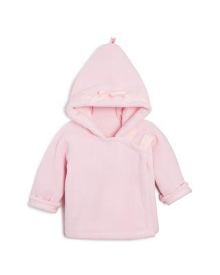 Beide Kids Girls Winter Fleece Jackets Coats Fur Hooded Outwear
