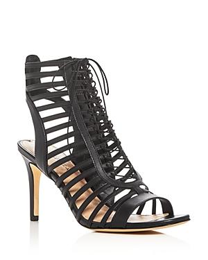Via Spiga Valena Caged Lace Up Sandals