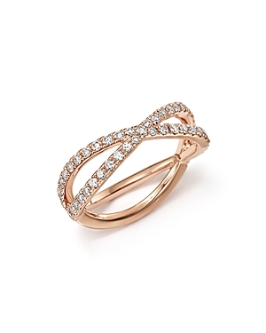 Diamond Midi Ring in 14K Rose Gold, .35 ct. t.w. - 100% Exclusive