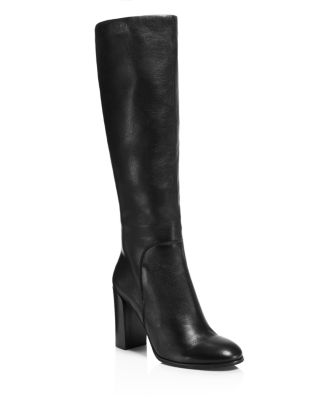 Women's Justin High Block Heel Boots by Kenneth Cole