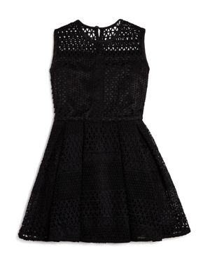 Bardot Junior Girls' Geo Patterned Mesh Dress - Big Kid