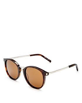 Saint Laurent - Women's Round Sunglasses, 51mm
