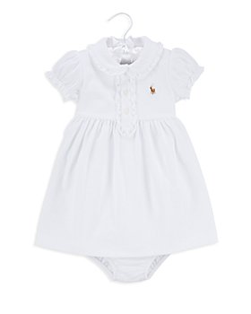 Ralph Lauren - Girls' Ruffled Dress & Bloomer Set - Baby
