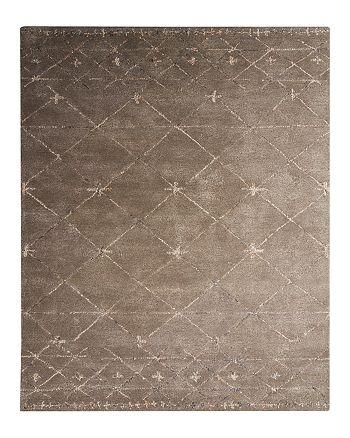 Jaipur - Etho by Nikki Chu Area Rug - Major Brown/Oyster Gray, 9' x 12'