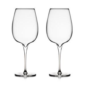 Nambe Vie Cabernet Glass, Set of 2