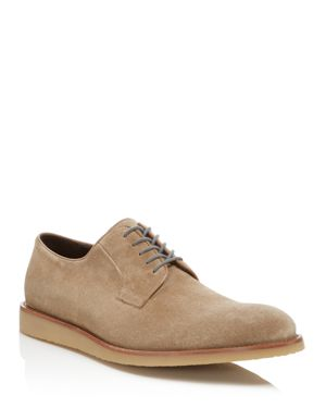 To Boot New York Jack Suede Buck Derby Shoes