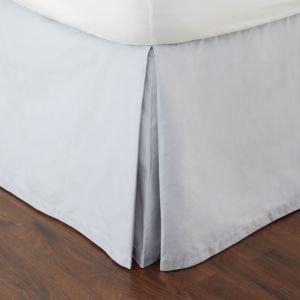 Hudson Park Ombre Tile Bedskirt, King - 100% Exclusive