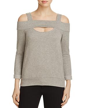 Bailey 44 Ground Cold Shoulder Sweatshirt