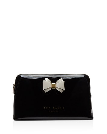 $Ted Baker Curved Bow Large Cosmetics Case - Bloomingdale's