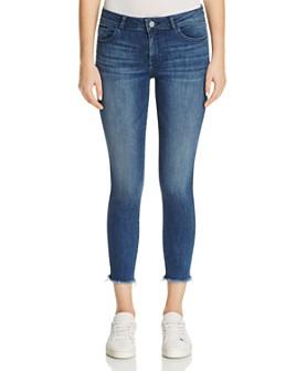 DL1961 - Florence Instasculpt Cropped Skinny Jeans in Stranded