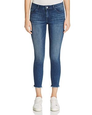 DL1961 Florence Instasculpt Cropped Skinny Jeans in Stranded-Women