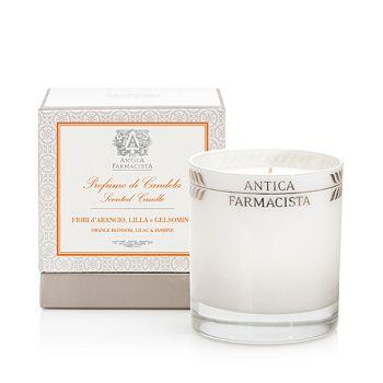 Antica Farmacista - Orange Blossom, Lilac and Jasmine Platinum Round Candle
