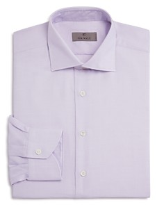 Canali - Micro Grid Non Solid Regular Fit Dress Shirt