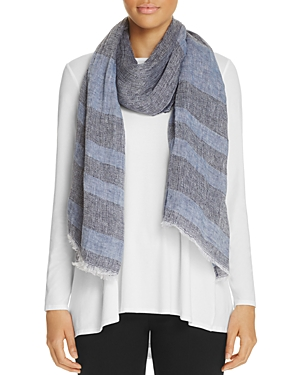 Eileen Fisher Striped Scarf - 100% Exclusive at Bloomingdale's
