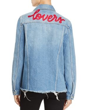 Lovers and Friends James Embroidered Denim Jacket, $79.2