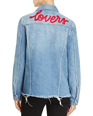 Lovers and Friends James Embroidered Denim Jacket