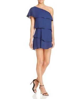 Aqua Ruffle One Shoulder Dress - 100% Exclusive 2182092