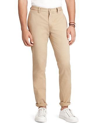 1094d403492e9e Polo Ralph Lauren Straight Fit Selvedge Chino Pants   Bloomingdale s