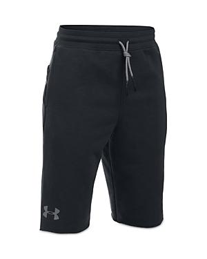 Under Armour Boys' Terry Tech Shorts - Big Kid