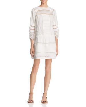 Joie Amberly Lace Shift Dress