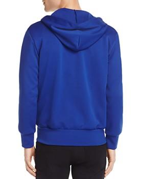 Comme Des Garcons PLAY - Zip-Front Heart Logo Hoodie Sweatshirt