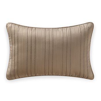 """Waterford - Chantelle Beaded Decorative Pillow, 12"""" x 18"""""""